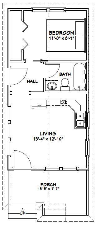 14x28 Tiny House 14x28h1m 391 Sq Ft Excellent Floor Plans Shed To Tiny House Tiny House Floor Plans House Floor Plans