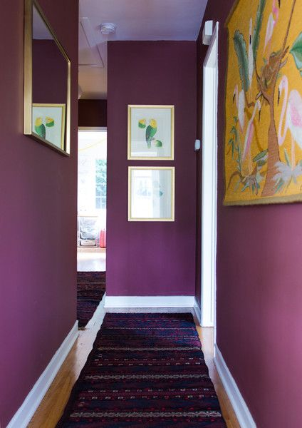 Purple Places - Work + Sea's Colorful Los Angeles Home  - Photos