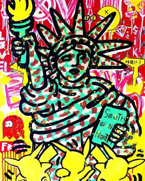 Adesivo da parete luminoso motivo a farfalla da bambini. Reposting Onizbar Inspired By Keith Haring