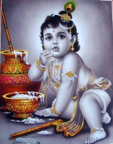 lord krishna kanha anha