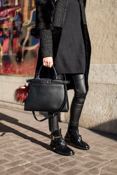 72afc98b633 We love you, Fendi Peekaboo. Forever and always. The #StreetStyle edit from  #PFW is live! #AW15
