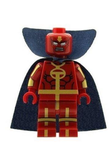 RED TORNADO w// TORNADO **NEW** Custom Printed DC Universe Minifigure