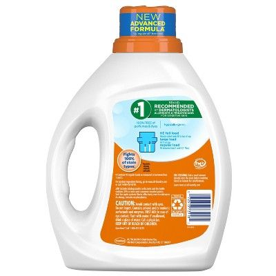All Liquid Laundry Detergent With Oxi Stain Removers And Whiteners
