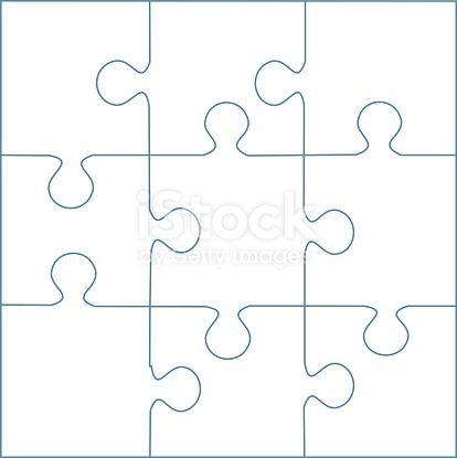 9 Piece Puzzle Template Puzzle Quotes Puzzle Piece Template
