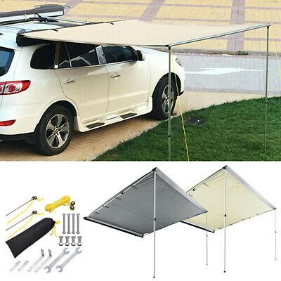 Details About Awning Rooftop Car Tent Suv Shelter Truck Camper Outdoor Camping Canopy Sunshade Car Tent Truck Camper Camping Canopy