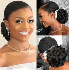 Modele coiffure afro pour mariage