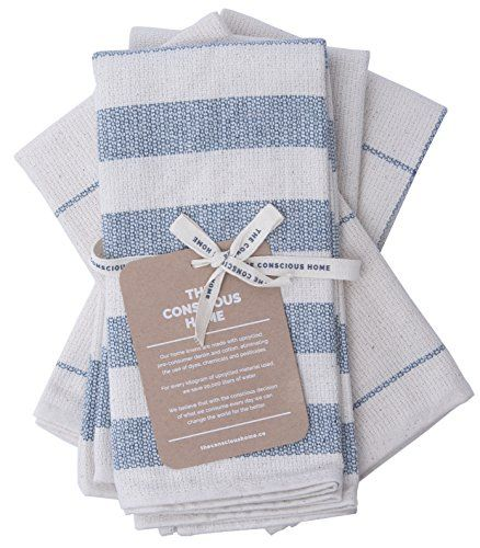 Eco Luxury Kitchen Towels Cotton Dish Cloths 100 Eco F With