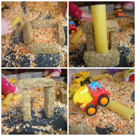 cereal pasta and pulses construction site