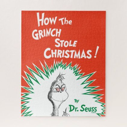 The Grinch Book Cover