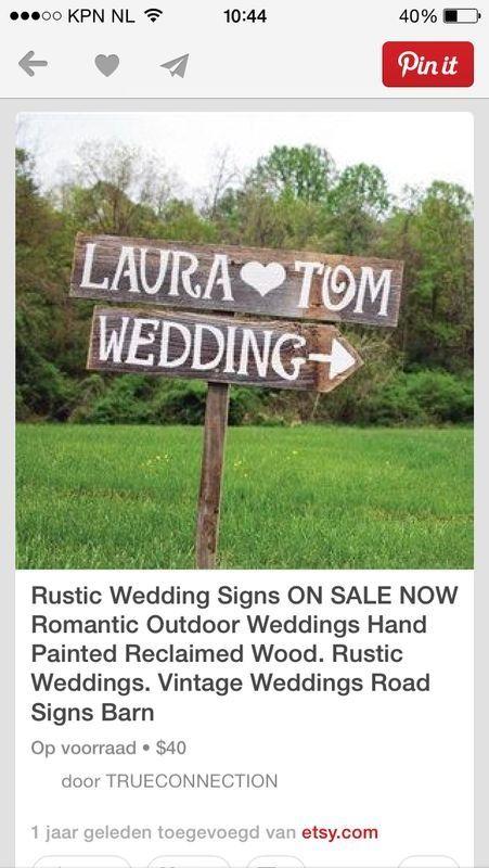 Wedding Signs Ditt Brollop