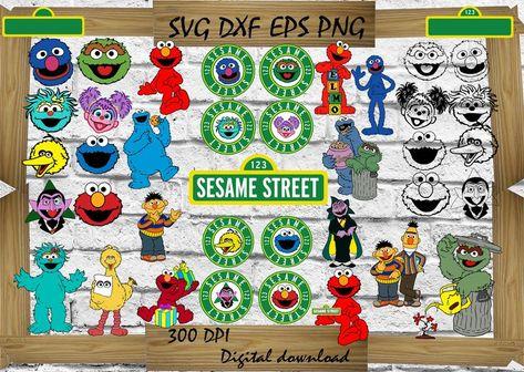 35 Sesame Street Alphabet Svg Sesame Street Svg Elmo Svg