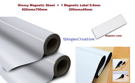 620x700mm Blank Magnetic Sheet Best Car Magnet Roll Thick Flexible Rubber Magnetic Sheets Magnet Roll Magnets