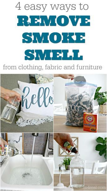 4 Ways To Remove Smoke Smell From Fabric Furniture And Clothing Smoke Smell Cleaning Hacks Cleaning Painted Walls