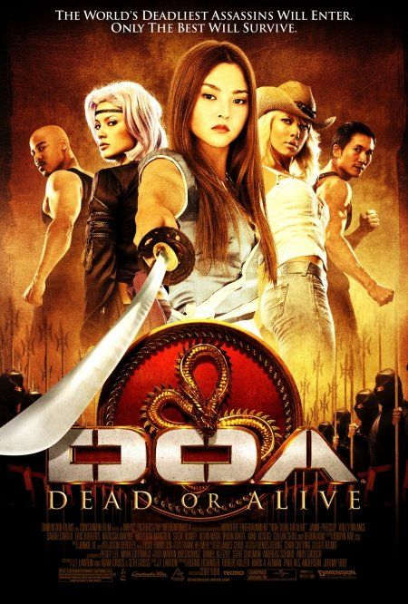 Doa Dead Or Alive 2006 400mb 720p Brrip Dual Audio Hindi