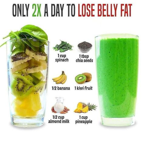 Weight Loss Smoothie Recipes, Easy Smoothie Recipes, Weight Loss Drinks, Healthy Recipes, Diet Recipes, Weight Loss Protein Shakes, Ketogenic Recipes, Healthy Juices, Healthy Smoothies