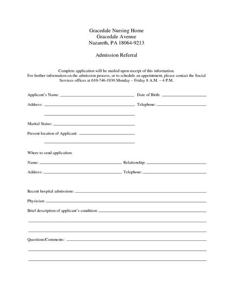 Hospital Discharge Template Download Report Templates Pinterest - divorce papers template