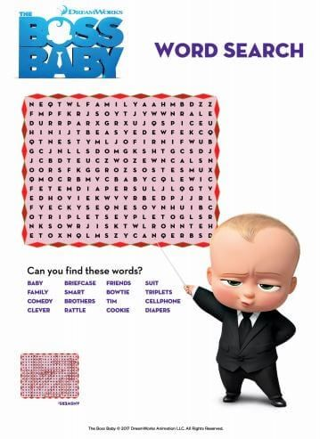 The Boss Baby Movie Night Ideas Happiness Is Homemade Boss Baby Baby Movie Baby Birthday Party Games