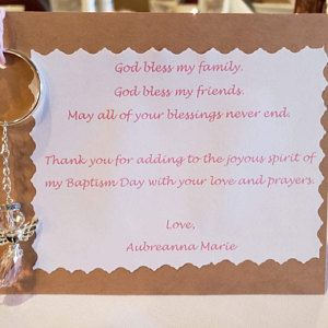 baptism gift baptism thank you 60pcs Baptism favors 60 Pieces baptism favor boxes with mini rosary