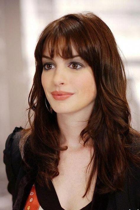 Imagem De Anne Hathaway Anne Hathaway Haircut Chelsea Houska Hair Long Dark Hair