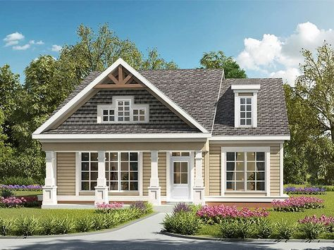 019h 0192 Comfortable Bungalow House Plan Small Craftsman House Plans Craftsman House Craftsman House Plans