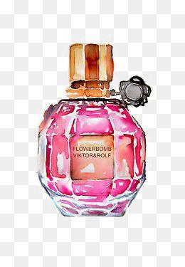Chanel Perfume Creative Perfume Drawing Perfume Pink Perfume Png Image And Clipart Perfume Bottle Drawing Dior Perfume Bottle