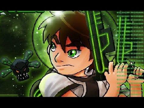 كرتون بن 10 قناص الكائنات الفضائية العاب بن تن 2015 Cartoon Anime Art