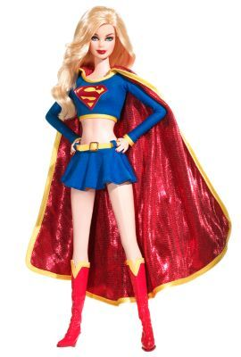 Barbie Collector Doll Silver Label Supergirl Doll Introducing the Barbie Collector Doll Supergirl. Supergirl first appeared in a story published in Action Comics Supergirl Barbie doll is here to save the day, dressed in a cropped blue top