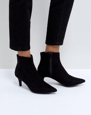 04b450d708f New Look Pointed Kitten Heel Ankle Boot | winter 19 | Kitten heel ...