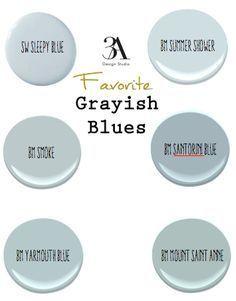 Favorite Grayish Blues Paint Colors For Home Blue