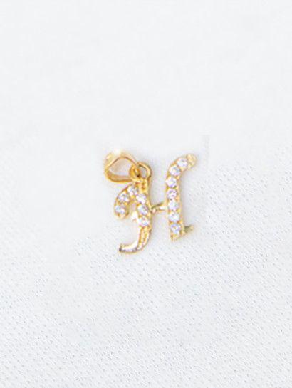 تعليقه ذهب عيار 18 حرف H تعليقة ذهب Stud Earrings Friends Photography Earrings