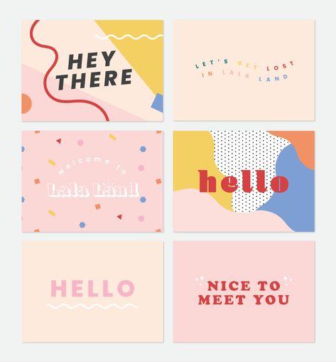 Compliments cards for online orders and PR packages. Web Design, Media Design, Layout Design, Print Design, Logo Design, Brand Identity Design, Graphic Design Posters, Graphic Design Inspiration, Packaging Design Inspiration