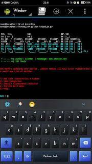 Cara Install Kali Linux Hacking Tools via Termux Apk Android