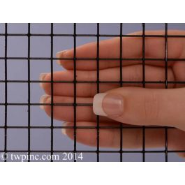 2 Mesh Black Poly Galv Welded 19 Gauge 041 Wire Dia Mesh Mesh Material Wire