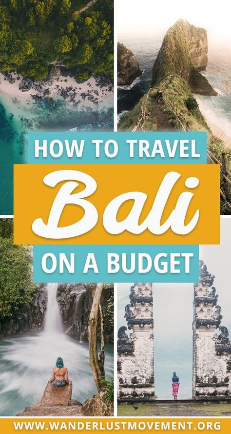 Planning a trip to Bali? Here's how to explore one of Indonesia's most popular islands on a budget. From exploring ancient temples to sampling delicious local food, you don't need a lot of cash to travel to the Island of the Gods to it's fullest. #bali #indonesia #budgettravel