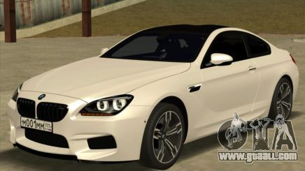 Bmw M6 F13 Coupe For Gta San Andreas San Andreas Gta Bmw
