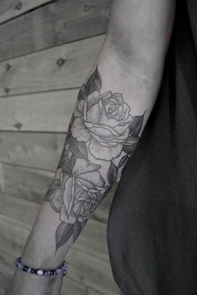 Black Rose Tattoo Tumblr Black Rose Tattoos White Rose Tattoos Elbow Tattoos