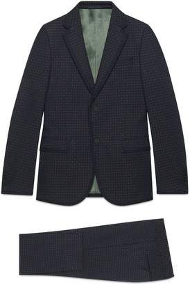 f1d85d98c Gucci Monaco empty dots twill suit #gucci #men #fashion #suits #affiliate  #wearitloveit