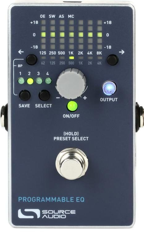 Source Audio Eq2 Programmable Equalizer Pedal In 2020 Guitar Rig