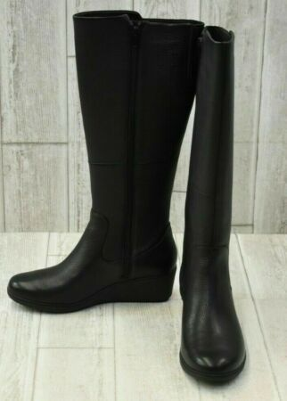 Great for CLARKS Size 7 Black Un