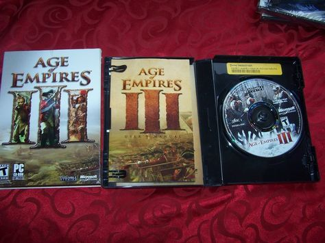 Brand New Age Of Empires Iii Pc Game Microsoft Hovak Ensemble