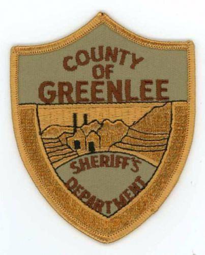 GREENLEE-COUNTY-SHERIFF-ARIZONA-OLD-PATCH-POLICE #policeexam