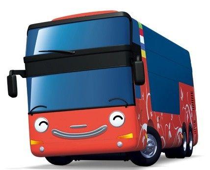 Gambar Mobil Bus Kartun