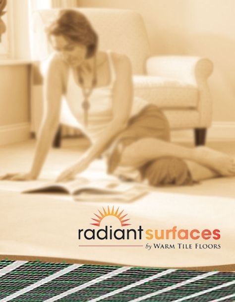 radiant surfaces by warm tile floors
