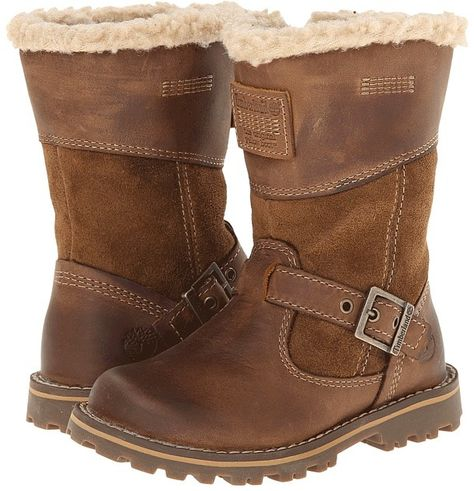 5fecefa7e8fb Timberland Kids Earthkeepers® Asphalt Trail Skyhaven Tall Boot w  Faux  Sherling (Toddler Little Kid)