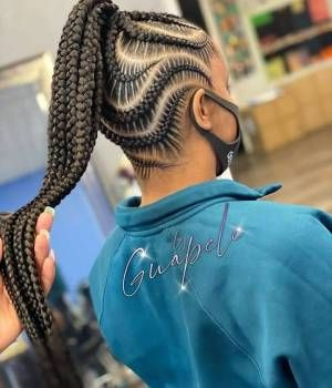 Latest Ghana Braid Hairstyles 2021 Cute Styles To Check Out In 2020 Hair Styles African Hair Braiding Styles Weave Hairstyles Braided