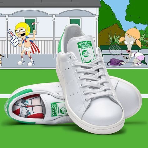 timeless design ff109 13955 Adidas Originals teams up with Seth McFarlane s American Dad for a new spin  on the Stan Smith.