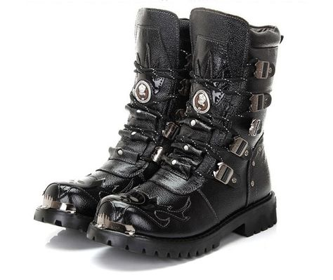 7 hole chinese mens boots