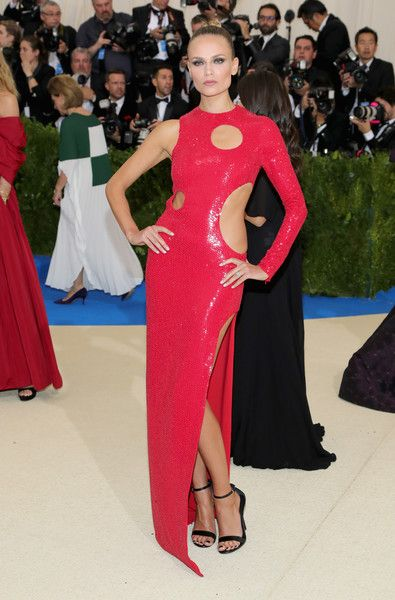 Natasha Poly - Every Daring Look on the 2017 Met Gala Red Carpet - Photos