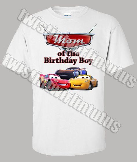 Cars 3 Mom Shirt