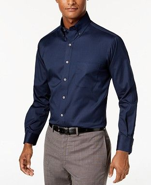296e4fc1dcd Regular Classic Mens Dress Shirts - Macy's | Shopping in 2019 ...